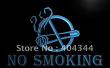LB176- NO SMOKING  Cafe Restaurant   LED Neon Light Sign     home decor  crafts