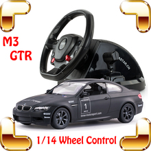 New Year Gift 1/14 M3 GTR RC Wheel Control Car Need For Speed Racing Car Game Roadster Most Wanted Drift Toys Collection Present