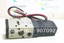 Free Shipping 1/4'' SMC Solenoid Valve VF3130 Single Coil Wire Lead Coil 2 Position 5 Way DC24V China factory(China)