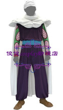 Dragon Ball Z Kai Piccolo Cosplay Costume Anime Custom Made Uniform