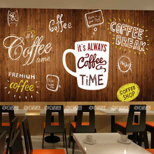 Free Shipping 3D Fashion food large mural Cafe dessert shop Cake Bakery casual bar restaurant background wallpaper mural