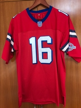 New Shane Falco #16 Football Jersey The Replacements Movie Stitched Red All stitched(China)