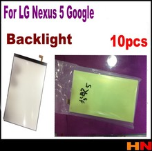 10pcs backlight Cell phone Brand New repair parts for LG Google Nexus 5 backlight back light flex refurbishment replacement