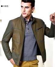 Sell Like Hot Cakes 2017 Spring Male New Fashion cotton collar thin jacket Coat /M----6XL(China)