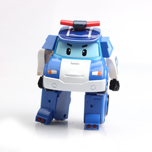 Q Version Korea Explosion Models Perley Deformation Robot Clan Children's Educational Toys