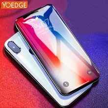 For iPhone X 8 4 4S 5 5S SE 5C 6 6S 7 Plus Screen Protector Clear Film Premium Ballistic Glass Tempered Glass Anti-Scratch Case(China)