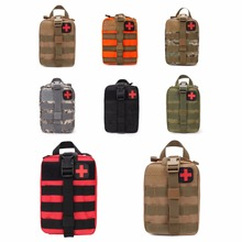 Outdoor Tactical Medical Bag Travel First Aid Kit Multifunctional Waist Pack Camping Climbing Bag Emergency Case Survival Kit(China)