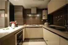 High gloss/lacquer kitchen cabinet mordern(LH-LA101)(China)