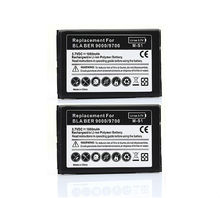 For Blackberry Cell Phone Back Up Batteria 2X 1800mah Phone Replacement Battery For Blackberry bold 9000 9700 9780 mobile Phone