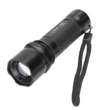 Portable Mini LED Flashlight 3W Waterproof Camping Lanterna LED 3 Modes Zoomable Torch AAA Battery Flashlight lED Best Price(China)