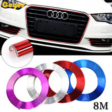 DIY Auto 8M Car-Styling Wheel Hub Tire Decorative Strip Sticker Case Jeep Ford Lexus Subaru Mercedes Infiniti VW Car Styling