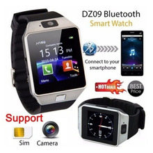 New Fashion Bluetooth Smart Watches DZ09 Smartwatch For Smart Phone Clock Support Facebook Whatsapp SD SIM With Camera Pedometer