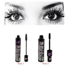 1 pcs double adjustable quantity mascara Long thick coils become warped waterproof and shading Cosmetics