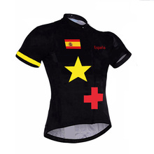6 style! Professional Spain cycling jersey Mtb Bicycle Clothing bike Wear Espana Ropa de ciclo team competition bicycle jersey(China)