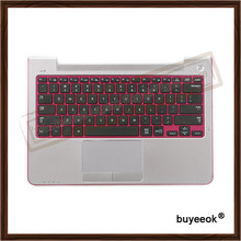 Original Top Case With US Keyboard Touchpad for Samsung 535U 530U Series NP530U3C NP535U3C Palmrest Touchpad and US Keyboard