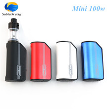 2017 Newest electronic cigarette Mini 100w vape mods 5w-100w variable wattage Temperature Control box mod 0.5 ohm atomizer - Subtech ecig store