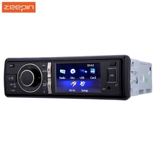 Zeepin P-320 1 Din Car CD Dvd Player Mp3 Mp4 Video Audio Radio Stereo Bluetooth FM USB Charger With Microphone Rear View Camera