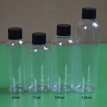 50pcs, 75ml New Refillable Portable Mini Empty Perfume Hotel Storage Soap Bottle Travel Scent Case Hot Sale bottles