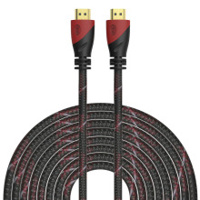 0.5m,1m,1.5m,1.8m,3m,5m,10m High Speed HDMI Cable Gold Plated Connection HDMI to HDMI cable 1.4v 1080P 3D for HDTV XBOX PS3(China)