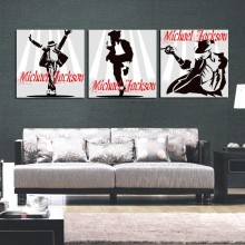 Michael Jackson Poster Pop Art Oil Painting Abstract Figure Painting Canvas Print Wall Pictures for Living Room Decor