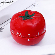 Keythemelife 1pcs Tomato 360 Degree Kitchen Timers 1-60min Cooking Clock Mechanical Countdown Timer D4(China)