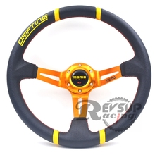 350mm Deep Dish Momo Competition Steering Wheel / Momo Drift Steering Wheel / Momo Deep Dish Steering Wheel