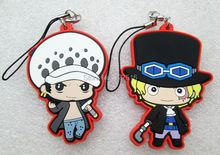 Wholesale and retail anime One Piece figures Sabo,Law genuine phone strap/Keychain pendant toys free shipping