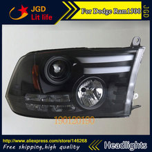 HID LED headlights headlamps HID Hernia lamp accessory products case for Dodge Ram 1500 2013-2016 Car styling