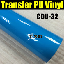 CDU32 FHeat Press PU for T-shirt Heat Transfer Vinyl Cut by Plotter cutting machine with size:50CMX100CM/LOT BY FREE SHIPPING
