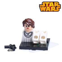 Building Blocks Mon Mothma Clone Trooper Cunner Zander Super Heroes Star Wars Bricks Dolls Kids DIY Toys Hobbies XH494 Figures(China)