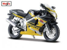 MAISTO 1:18 SUZUKI GSX R600 MOTORCYCLE BIKE DIECAST MODEL TOY NEW IN BOX FREE SHIPPING