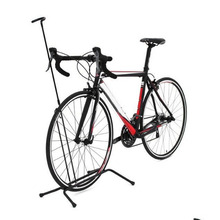 Aluminium Alloy Non-slip Road Mountain Bike Rack Bicycle Vertical Racks Cycling Parking Foldable Bicycle Stop Rack
