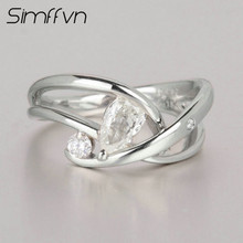 Simffvn Halo Ring For Women PT900 Gold 0.403CT Natural Diamond Certified Round Cut Wedding Engagement Ring Promise Ring