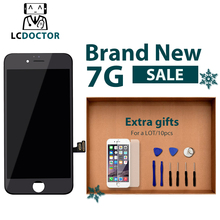 LCDOCTOR AAA++ touch Digitizer Screen with Full Assembly Replacement For LCD iPhone 7 7 Plus Free Shipping(China)
