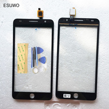 ESUWO Capacitive Touch Screen For Alcatel One Touch Pop Star 3G OT5022 OT 5022 5022X 5022D Touchscreen Sensor Touchpad +3M Tape