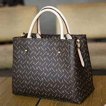 Free Shipping Monogram canvas Classic Women's Shoulder Bags Real Leather Brand Fashion Montaigne Bags(China)