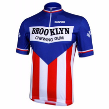 CUSROO 2017 BROOKLYH man short-sleeve cycling jersey custom made Ropa Ciclismo MTB Bike uniform Cycle shirt Cycling Jersey