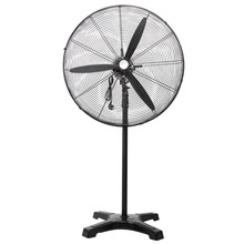 (Ship from USA) 30inch 3 Leaf Horn Blade 3 Speed High Velocity Pedestal Industrial Fan Floor Fan(China)