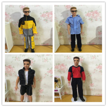 20 Set/Lot Wholesale Fashion Boy Friend Roupas Do Boneco Ken Boy Doll Clothes