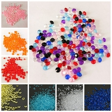 1000PCS 4.5mm Wedding Decoration Crafts Diamond Confetti Table Scatters Crystal Beads Centerpiece Events Party Festive Supplies