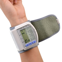 Health Care Portable Digital LCD Wrist Blood Pressure Monitor Pulse meter Tonometer + Heart Beat Meter XYJ01WQ S4949