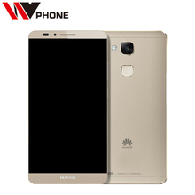 Original  Huawei Mate 7  3G RAM 32G ROM LTE Mobile Phone  6.0 inch Android 6.0 Battery 4100mAh 13.0MP Fingerprint ID NFC