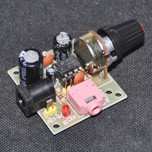 LM386 Super Mini Audio Amplifier Electronic Kit Circuit Board LM386 Amplificador Module Board Power 3.5mm 3-12V DC MONO