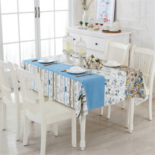 Cotton Rectangular Table Cloth Alice In Wonderland High Quality Home Dining Tablecloth Decorative Elegant Table Cover 2 Colors
