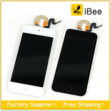 5 pcs/lot , LCD Display Touch Screen with Digitizer Assembly For iPod Touch 5  , Free Shipping by DHL