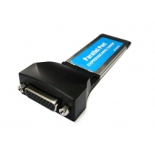 DB25 female Printer Parallel Interface Express Card ExpressCard 34mm Notebook Latop Docking Station Adapter