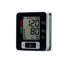 Higt quality wrist blood pressure meter health monitoring measure blood pressure device digital tonometer