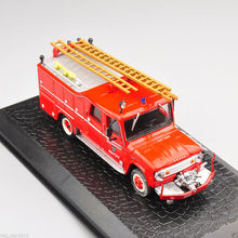 Exquisite 1/72 Diecast Car Model Toys New Dodge D-500 Vehicle Fire Truck Model Gifts Collections