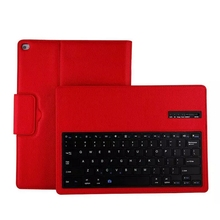 "Detachable Bluetooth Keyboard PU Leather Case For apple ipad pro 12.9 "" Cover Protective Bluetooth Keyboard Case"