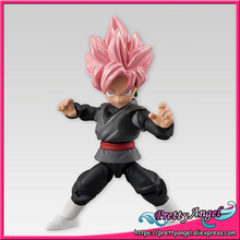 Japan Anime Original Bandai Tamashii Nations 66 ACTION Dragon Ball SUPER Toy Figure - Super Saiyan Rose Gokou-Black